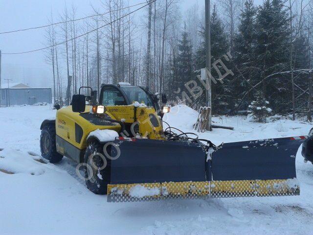 Скрепер для уборки снега мамонт скорость ширина 75 см